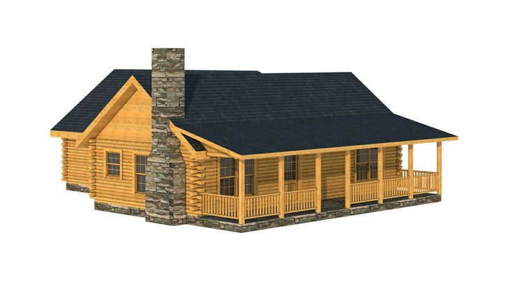 Choctaw 1399 sq 3 bed 2 5 bath single story for 2 story log cabin kits