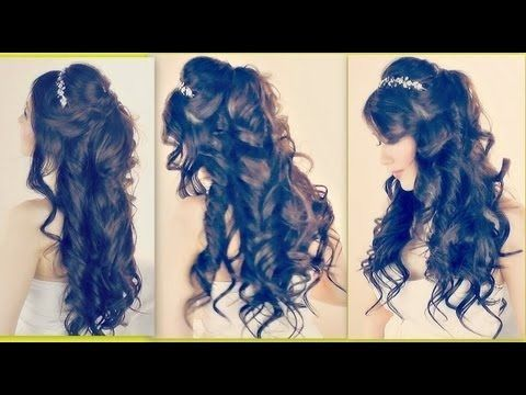 48 best images about Quinceanera hairstyles on Pinterest