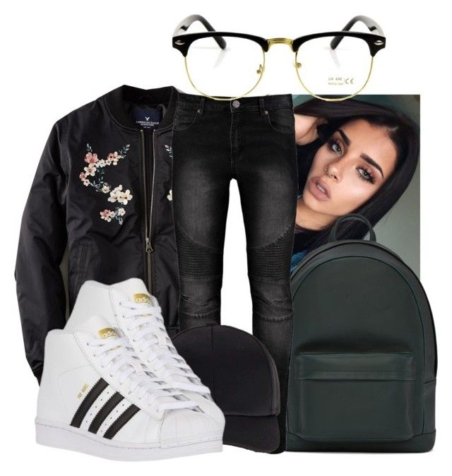 """Befriend ~ Young Thug"" by retrovintagepizza ❤ liked on Polyvore featuring American Eagle Outfitters, PB 0110, Miss Selfridge and adidas Originals"