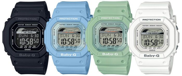 Casio Baby G Blx 560 Tide Graph Blx 560 1 Blx 560 2 Blx 560 3 Blx 560 7 Accesorios De Joyeria Reloj Accesorios
