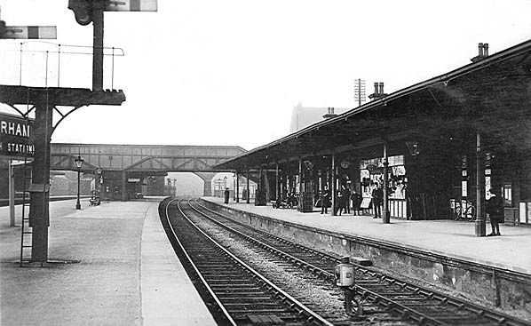 Rotherham Masborough Station