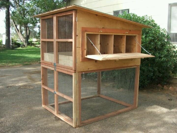 Nice 2 story with good ventilation.   Backyard chicken ...