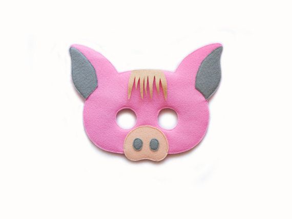COCHON se sentait masque prêt de costume animal par pokiplays - 15€