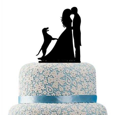 wedding cake topper silhouette with dogs 25 best ideas about silhouette wedding cake on 26501