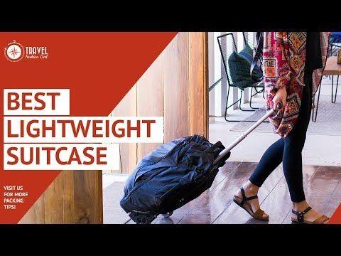 Best Lightweight Suitcase - YouTube