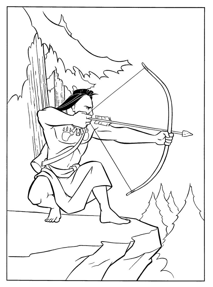 88 best Princesses Pocahontas images on Pinterest | Coloring books ...