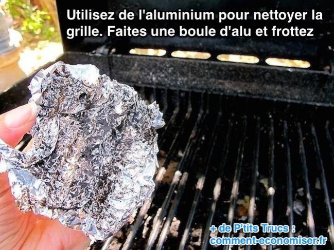 L'Ultime Astuce Pour Nettoyer la Grille de votre Barbecue Facilement.