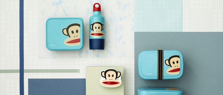 Cool for school lunches, Paul Frank melamine lunch boxes & drink bottles