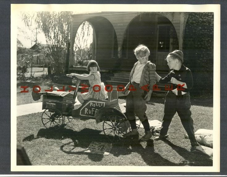 OUR GANG - JACKIE + MARY ANN + SPECK - EXC+ COND 1930 - LITTLE RASCALS HAL ROACH