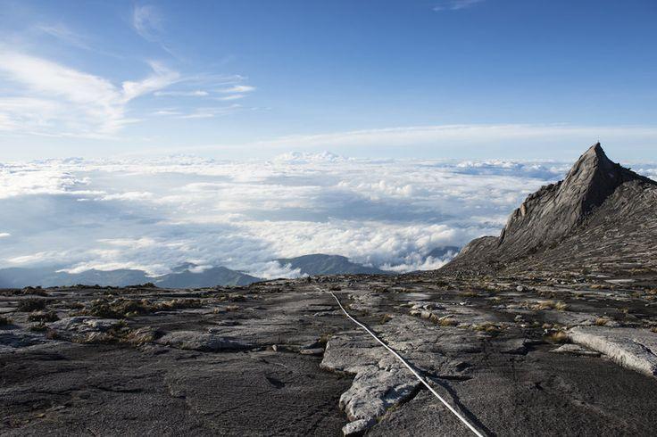 Mont Kinabalu, Borneo.