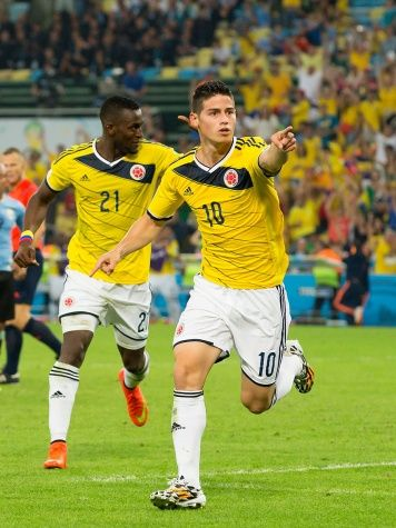 Colombian James Rodríguez Is Our Favorite Soccer Player at the World Cup - Culture - Music, Movies, Art, Profiles, and More