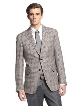72% OFF Cerruti 1881 Men's Drop 7 Classic Fit Sport Coat (Grey Square)