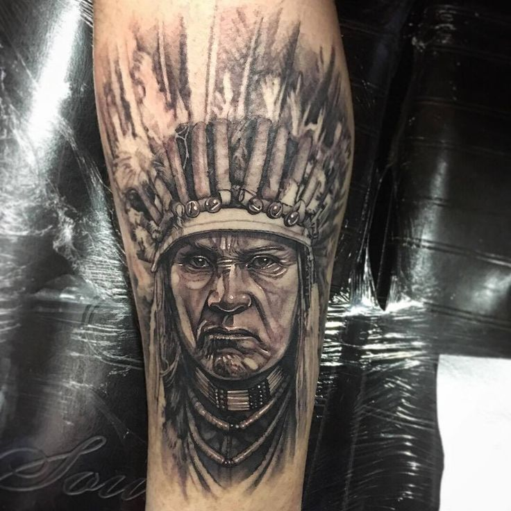 #Native #American #Indian #Warrior #chief #feather #amazing #realistic #portrait
