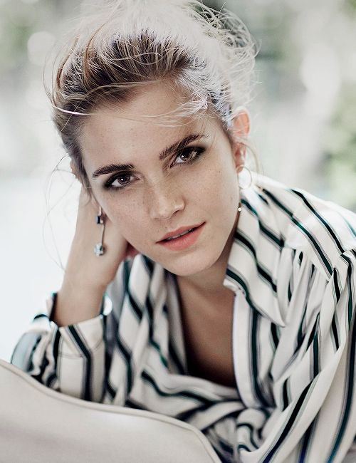 Emma Watson photographed by Cass Bird for Porter Magazine (2015)
