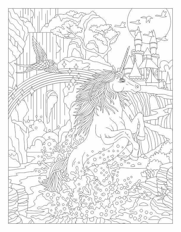 Happy Unicorn In The Land Of Sweets Unicorn Coloring Book For Kids By Katrin Brown Image 13 Coloring Books Book Girl Happy Unicorn