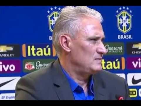 Tite é apresentado como novo técnico da seleção brasileira