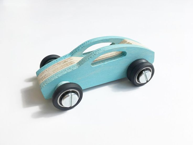 Plywood toy car
