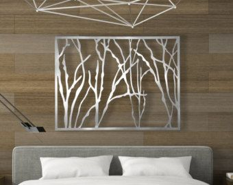 D coup au laser sculpture art panneau mural d coratif par for Panneaux muraux inox
