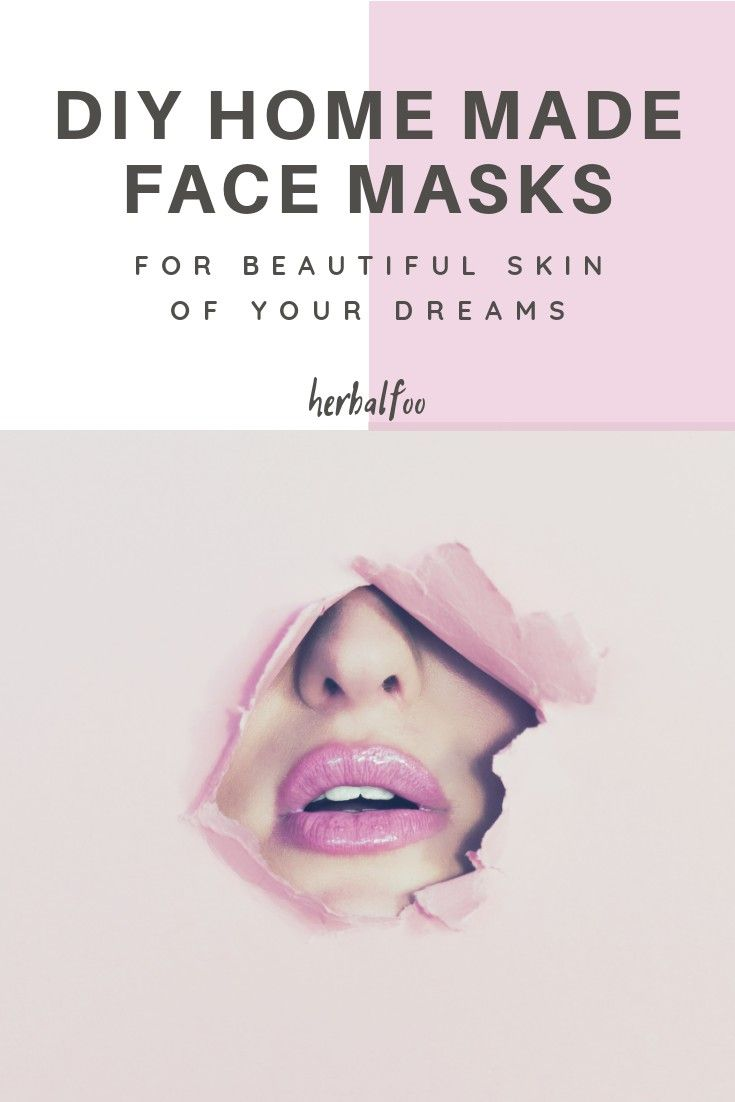 Facial made home products