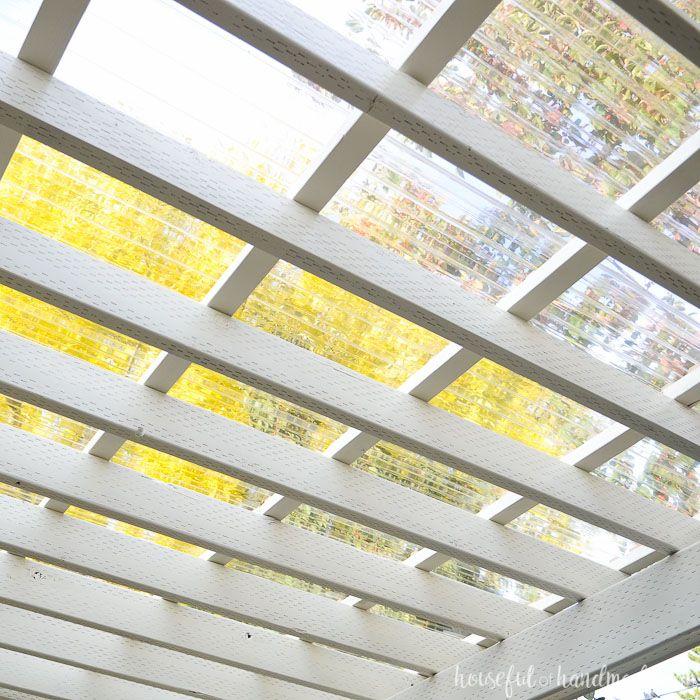 Installing A Clear Pergola Roof Pergola With Roof Outdoor Pergola Pergola Canopy