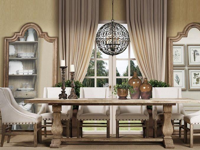 Best Trestle Dining Tables Ideas On Pinterest Restoration