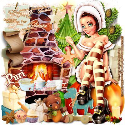 """MI RINCÓN GÓTICO: CT for GoF Designs, """"Cookies for Santa"""""""