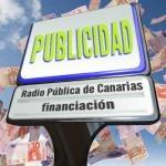 Financiación con publicidad de la radio pública de Canarias