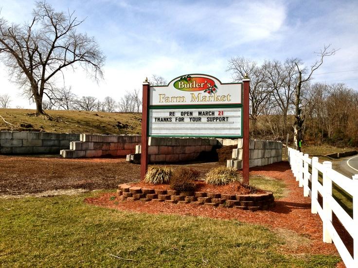 Butler's Farm Market- Martinsburg, WV #farmersmarkets