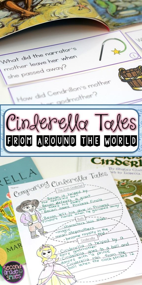 Did you know there are thousands of unique Cinderella stories told around the world? If you study the continents in your social studies curriculum, this is a great way to connect content areas. My students loved finding each country on the map and naming its continent before reading the corresponding fairy tales! Common Core aligned!