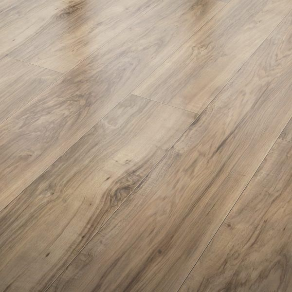 Rustic Pecan 10mm Laminate Flooring By Inhaus Wood Floors Wide Plank Flooring Laminate Flooring