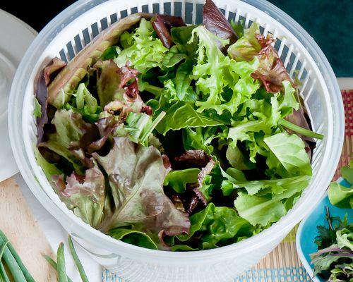 limpiar vegetales con vinagre blanco