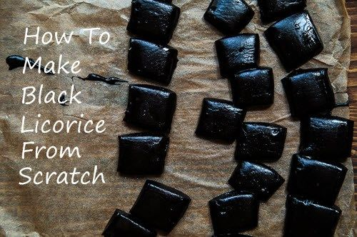 How To Make Black Licorice From Scratch | http://homestead-and-survival.com/make-black-licorice/ | Black licorice is strong flavored and often polarizing snack that supporters defend for its rich, sharp flavor.