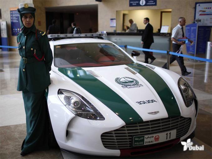 Dubai Police Add A Rare Aston Martin To Their Fleet Of Supercars May 2013