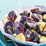 Purple Potato Egg Salad Recipe - Clean Eating