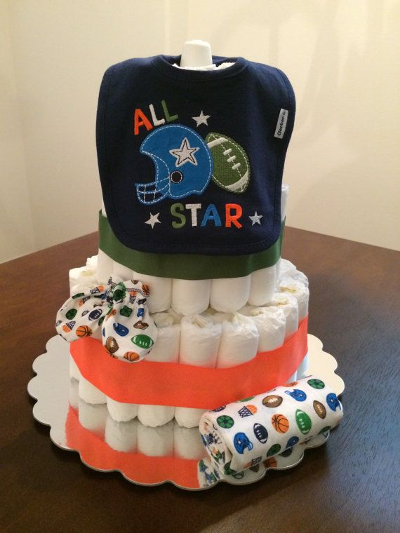 Best 25+ Sports diaper cakes ideas on Pinterest Sports ...