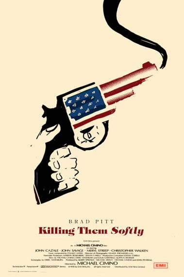 Killing them Softly by Olly Moss