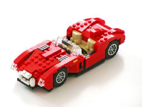 Ferrari 250 Testa Rossa: A LEGO® creation by Nathanael Kuipers : MOCpages.com