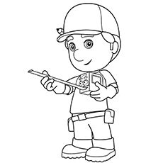 123 best Handy Manny images on Pinterest   Coloring books ...