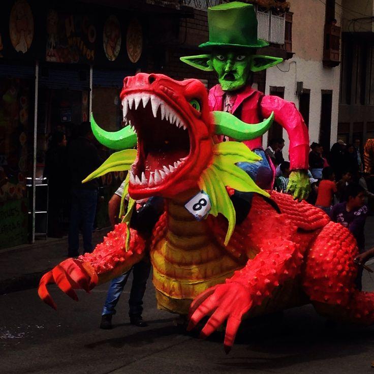 Carnaval de Blancos y Negros - La Cruz Nariño