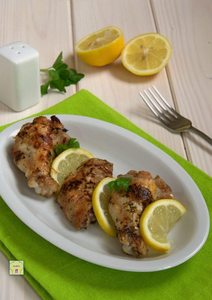 Parsley and lemon chicken wings - Alette di pollo prezzemolo e limone