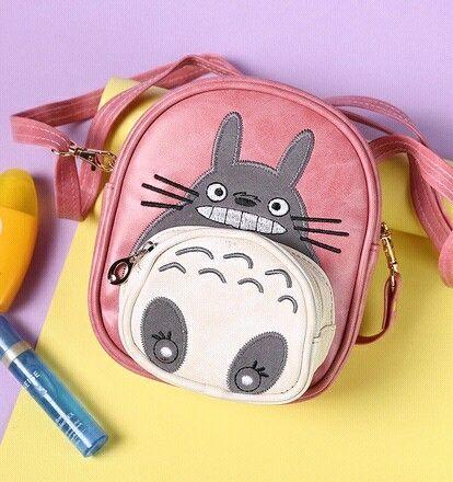 Anime Totoro Backpacks Cotton 3D Cartoon Children Plush Backpacks for Boys Girls Schoolbags for Teenagers Kids School Backpack