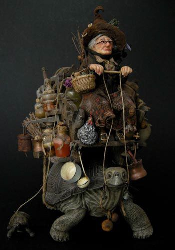 Fantasy | Whimsical | Strange | Mythical | Creative | Creatures | Dolls | Sculptures | Julien Martinez - Artist Dolls
