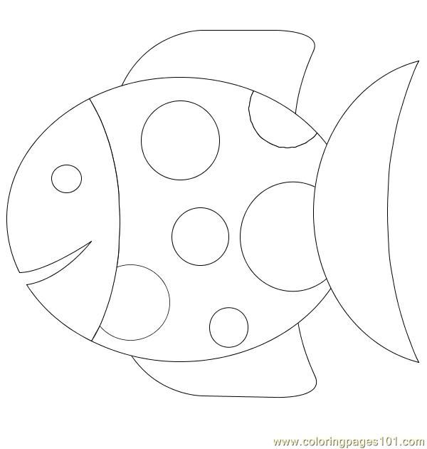 printable fish coloring pages | free printable coloring page 27 Fish (Animals > Fishes)