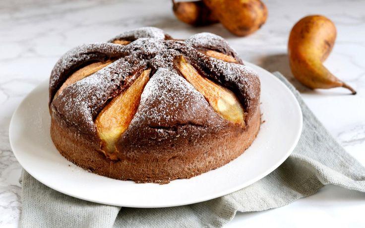 Torta pere e cacao facilissima ricetta