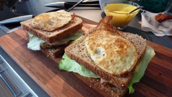 Webmasterens Original American Club Sandwich