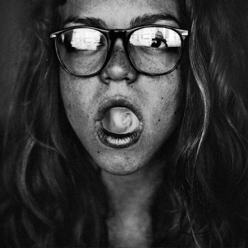 Black and white people photography by Giulia Muraglia