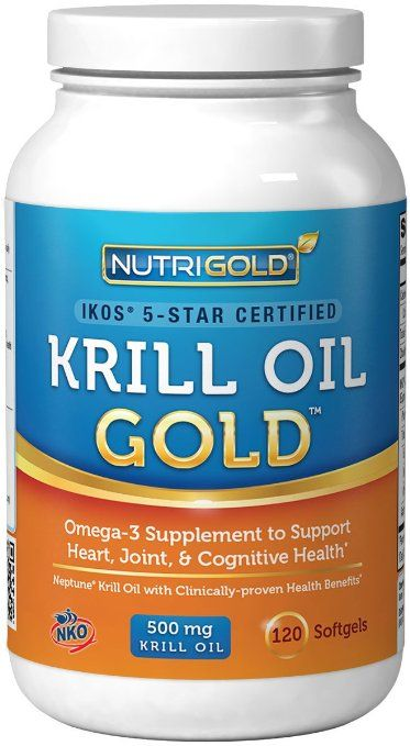 http://www.amazon.com/Krill-Oil-Omega-3-Supplement-Multi-Patented/dp/B00GZ1A6DO/ref=sr_1_56?s=hpc&ie=UTF8&qid=1414705967&sr=1-56&keywords=krill+oil #1 Krill Oil Omega-3 Supplement - Krill GOLD, 500mg, 120 Softgels - IKOS 5-Star Certified, Multi-Patented, GMO-free, Hexane-free, Cold-Pressed NKO Neptune Krill Oil with Astaxanthin 240 - (Pack of 2 = 240 Softgels)