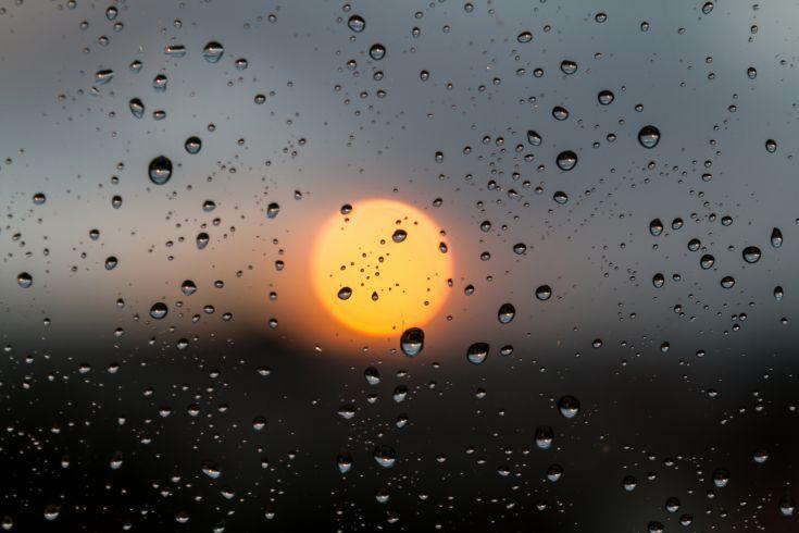 ARTFINDER: Orange by Victor de Melo - Sunset through my window after a rainy day