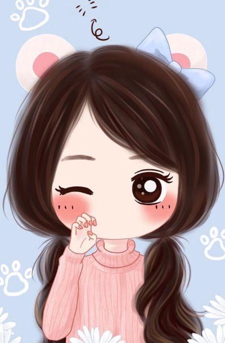 Pin oleh di wallpaper iphone cute - Cartoon girl images hd ...