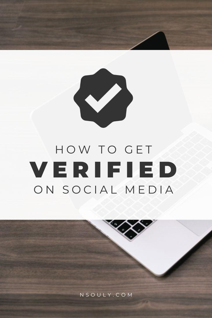 Social Media Verification How To Get Verified on Social